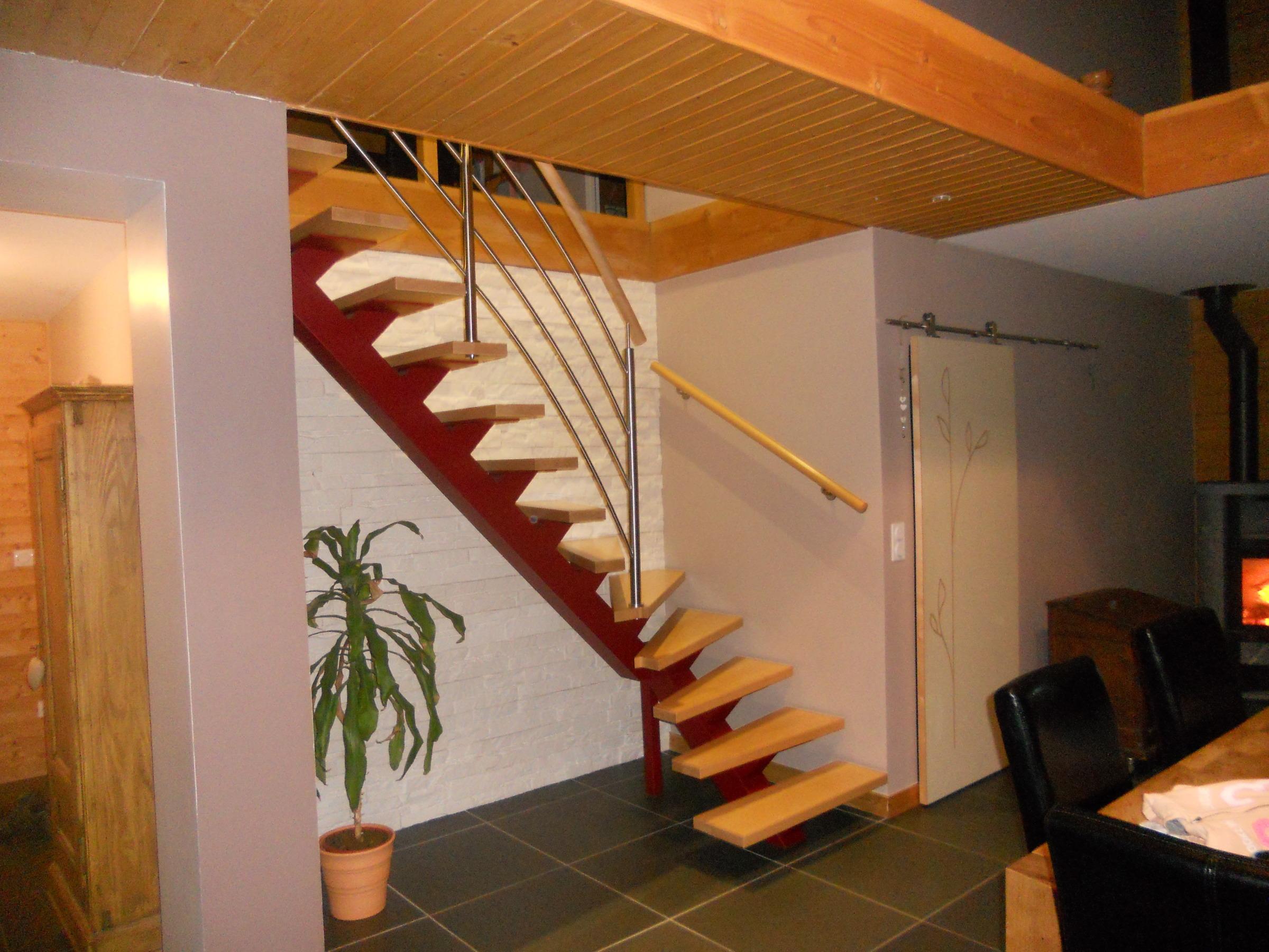 Escalier Et Balustrade Sur Mesure Jura Pernin
